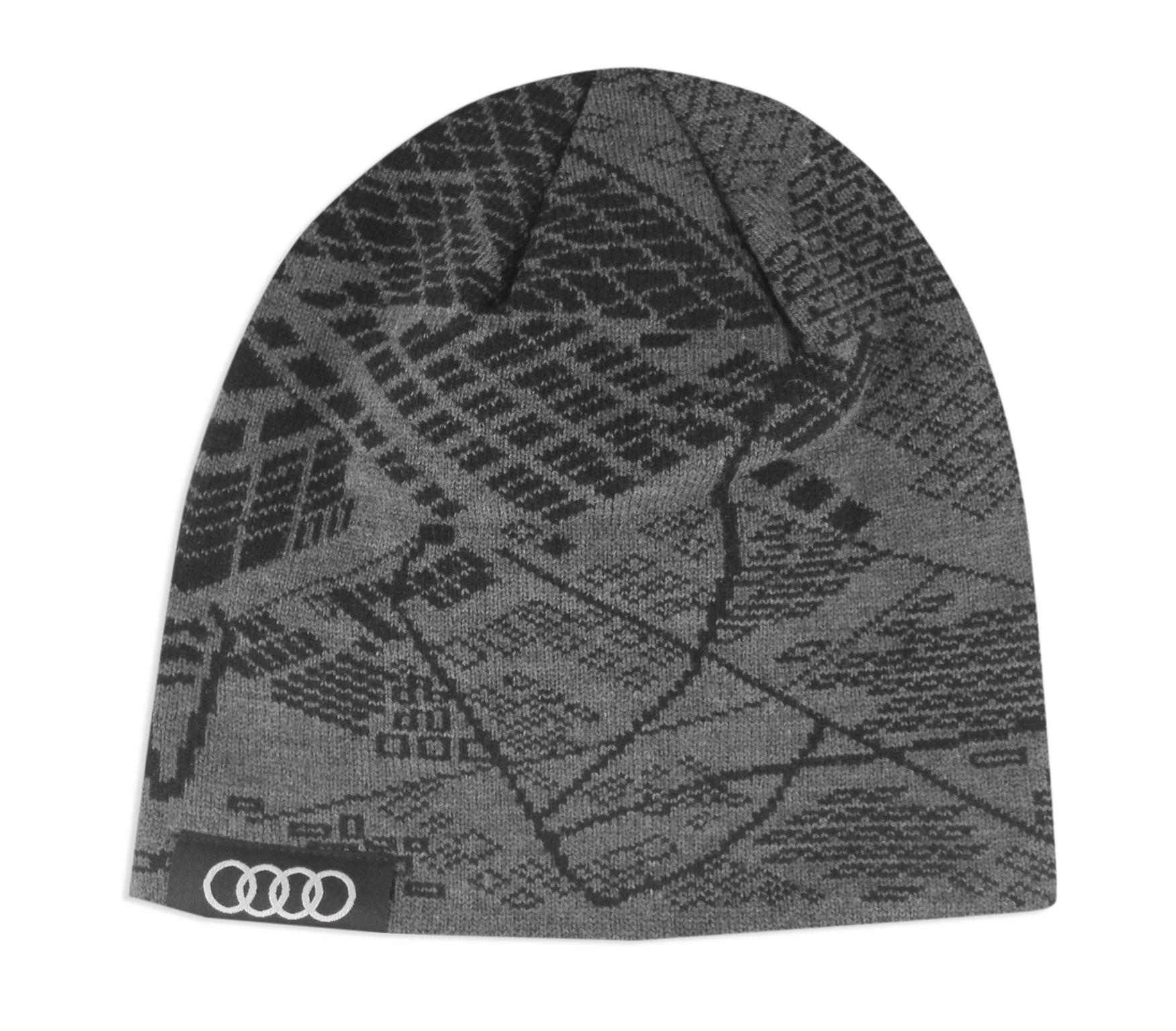 Acm4400 Audi Ingolstadt Germany Design Map Beanie