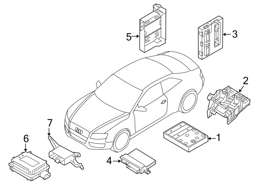 8K0907064CS - Audi Keyless Entry Module. MODULES ...